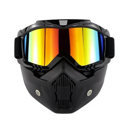 Family Avenue Protective Motorcycle Mask Black Multicolor
