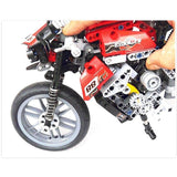 Family Avenue Racing Bike Building Blocks 431 pcs