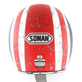 Family Avenue 'Rebel Star' Retro 3/4 SOMAN™ Helmet