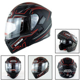 Family Avenue SOMAN™ Motorcycle Flip-Up Helmet