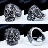 Family Avenue Sugar Skull Ring