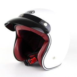 Family Avenue White Retro 3/4 SOMAN™ Helmet