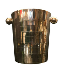ART DECO STYLE SILVER PLATED ICE BUCKET