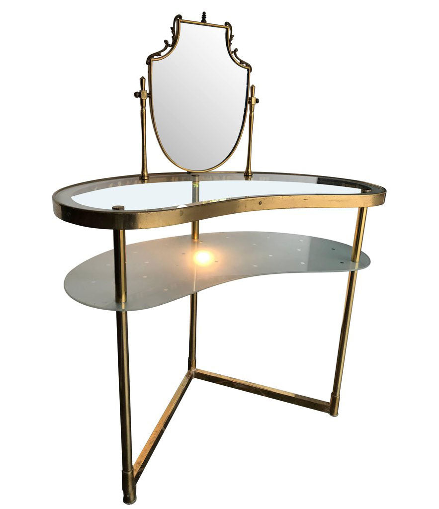 BEAUTIFUL ITALIAN 1950S DRESSING TABLE