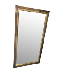 BELGO CHROME BRASS MIRROR