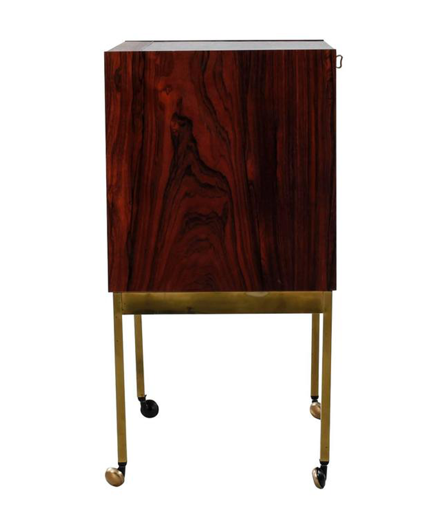 BRAZILIAN ROSEWOOD DRINKS CABINET