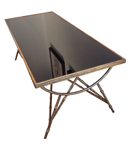 A MAISON BAGUES STYLE COFFEE TABLE
