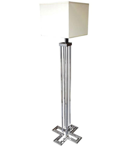 CURTIS JERE CHROME FLOOR LAMP