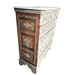 EARLY 19TH CENTURY FIVE-DRAWER SYRIAN COMMODE