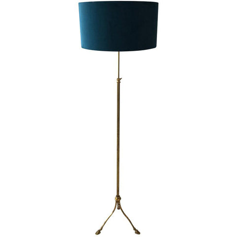 INTERESTING FRENCH ADJUSTABLE STANDARD LAMP