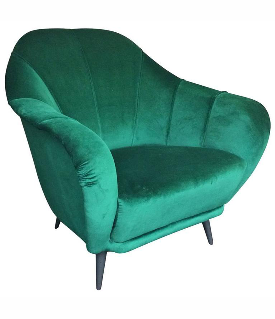 ITALIAN ARMCHAIR IN THE STYLE OF GIO PONTI
