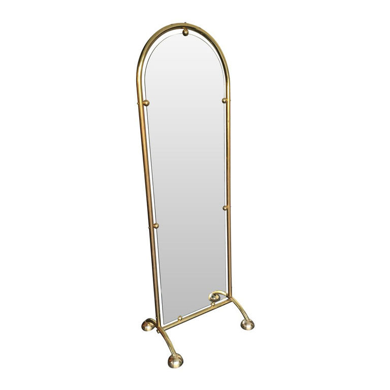 ITALIAN FULL LENGTH, DOUBLE SIDED TAILORS MIRROR