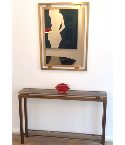 GUY LEFEVRE CONSOLE TABLE