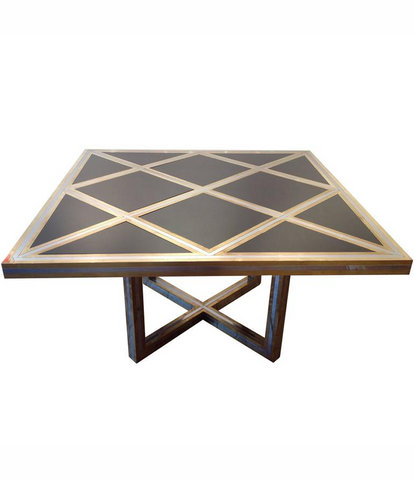 MAGNIFICENT 1970S ROMEO REGA DINING TABLE