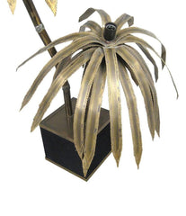 MAISON JANSEN DOUBLE PALM TREE FLOOR LAMP