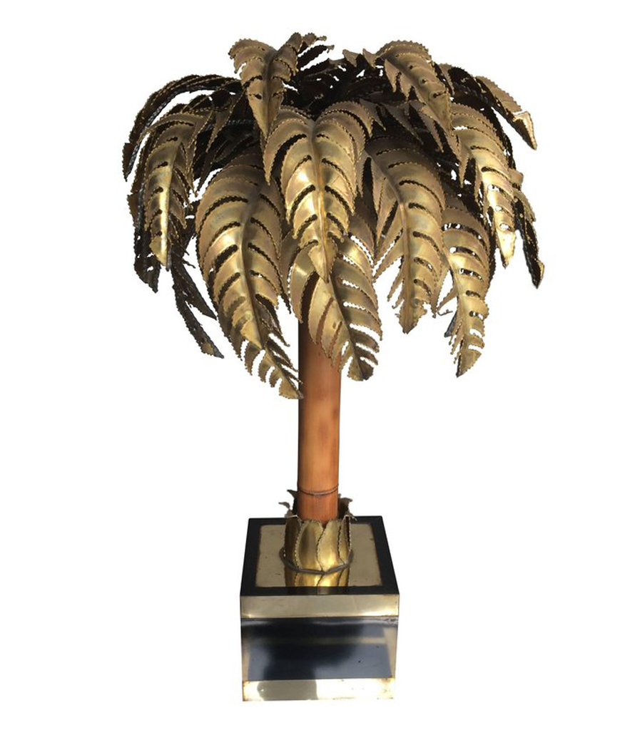 Maison jansen palm tree table lamp ed butcher maison jansen palm tree table lamp aloadofball Image collections