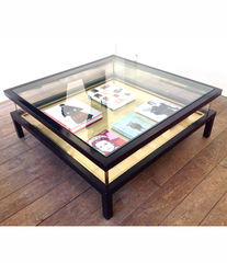 MAISON JANSEN SLIDING COFFEE TABLE