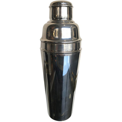 MAPPIN AND WEBB 1940S SILVER PLATED COCKTAIL SHAKER