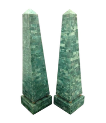 PAIR OF MAITLAND-SMITH OBELISKS