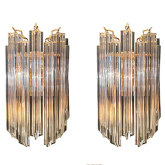 PAIR OF VENINI WALL SCONCES