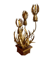 RARE MAISON JANSEN PINEAPPLE FLOOR LAMP