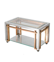 ROMEO REGA SIDE TABLE TROLLEY