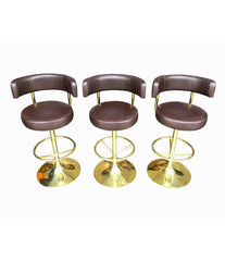"SET OF THREE BÖRGE JOHANSSON ""JUPITER"" BAR STOOLS"