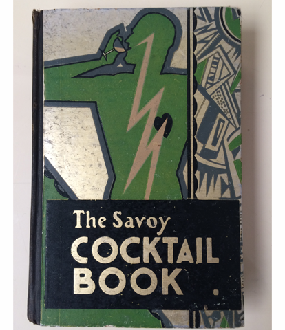 Original 1930 Savoy cocktail book by Harry Craddock