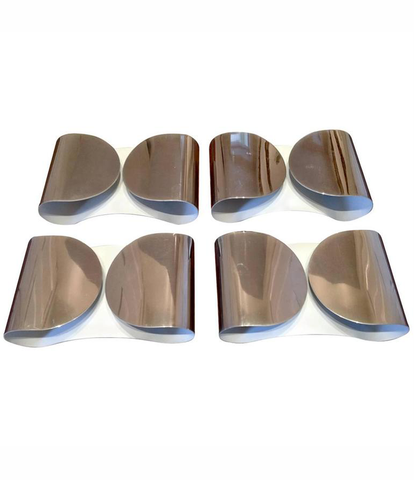 SET OF FOUR 1960S TOBIA SCARPA WALL SCONCES