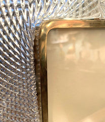 STUNNING 1940S BAROVIER & TOSO MURANO GLASS PICTURE FRAME BY ERCOLE BAROVIER
