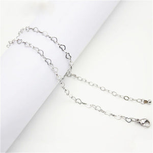Heart Link (75cm) Chain