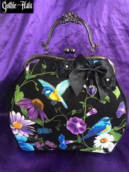 Floral Calista Bag Large Prp