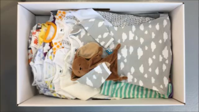 Packing a Finnish Baby Box