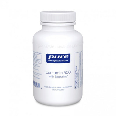 Curcumin 500 with Bioperine-Pure Encapsulations-shop.bodylogicmd.com