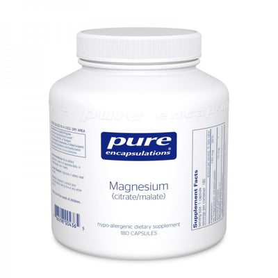 Magnesium (citrate/malate)-Pure Encapsulations-shop.bodylogicmd.com