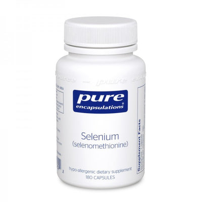 Selenium (selenomethionine)-Pure Encapsulations-shop.bodylogicmd.com