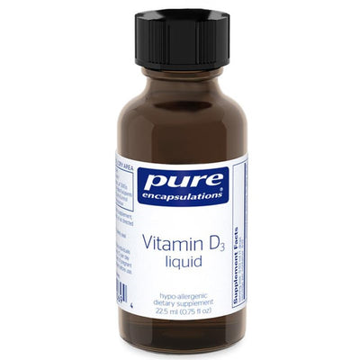 Vitamin D3 Liquid-Pure Encapsulations-shop.bodylogicmd.com