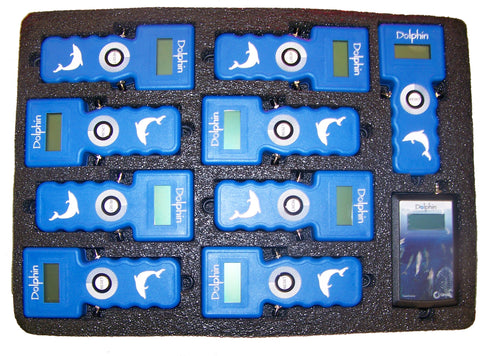 6-lane Dolphin Wireless Timing Stopwatch System