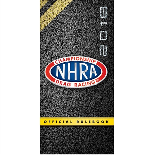 2018 NHRA Racer Rule Book