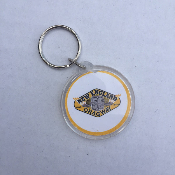 50th Anniversary Key Chain