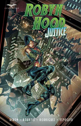 Robyn Hood Graphic Novels