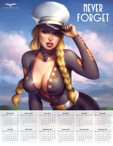 2021 Veteran's Day Mini Print Calendar