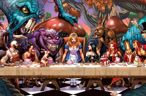 Alice in Wonderland #6 - Cover A Canvas Art Print