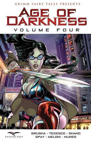 Grimm Fairy Tales Presents: Age of Darkness Volume 4 Graphic Novel