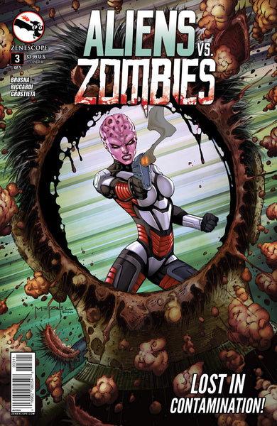 Aliens vs. Zombies #3