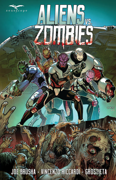 Aliens vs. Zombies Trade Paperback
