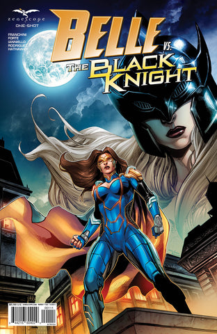 Belle vs. The Black Knight One Shot. Cover A. Martin Coccolo.