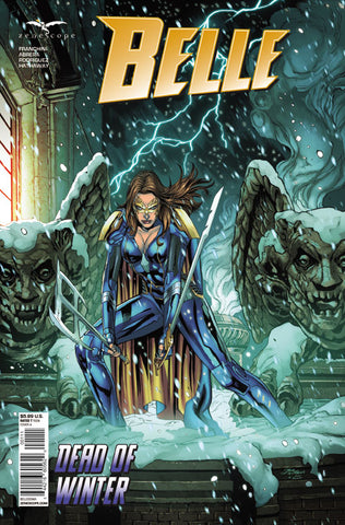 Belle: Dead of Winter One Shot. Cover A. Igor Vitorino. Ivan Nunes. Zenescope. 2021.