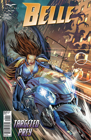 Belle: Targeted Prey One Shot. Cover A. Igor Vitorino. Ivan Nunes. Zenescope. 2020.
