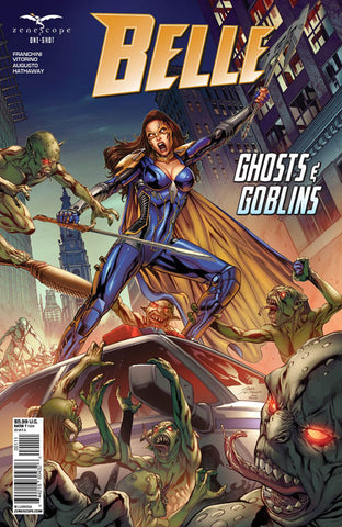 Belle: Ghosts & Goblins One-Shot. Cover A. Igor Vitorino. Ivan Nunes. 2020. Zenescope.